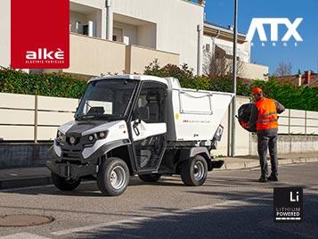 Alke Elektrofahrzeuge - Abfalltransport