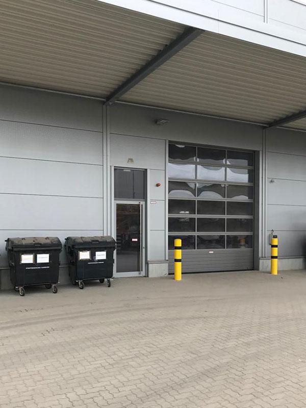 STEMATZ neuer Standort in Hamburg, Hallentor