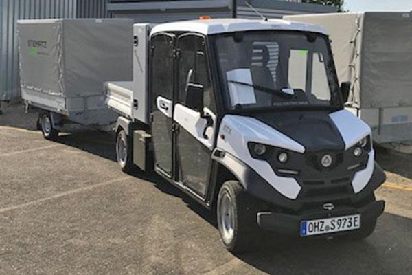Long Vehicle auf Elektrobasis