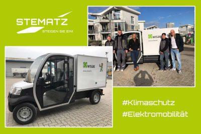 WISAG Gebäudereinigung investieren in den Klimaschutz mit Elektromobilität von STEMATZ